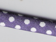 Tubular puntos morado 7mm (Diadema 7mm)