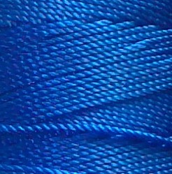 Hilo Micromacrame 0.5mm azul pavo real