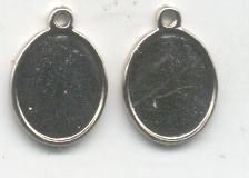 Base medalla 22m dos cara (17*13mm) P